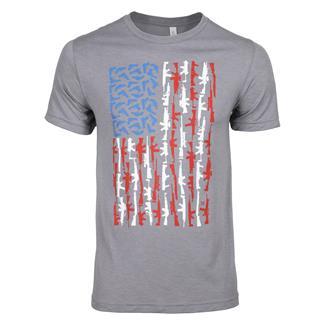 TG Gun Flag T-Shirt Storm