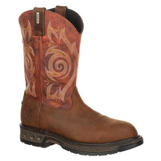 Georgia Carbo-Tec LT Pull-On WP Brown / Burnt Orange