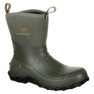 Georgia Mid Rubber Boot WP Green