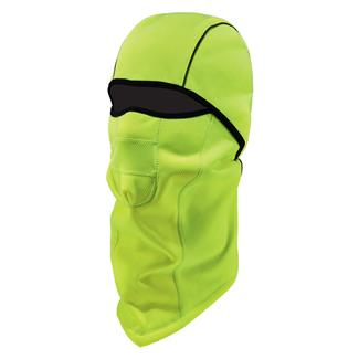 Ergodyne Windproof Hinged Balaclava Hi-Vis Lime