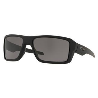 Oakley SI Double Edge Matte Black (frame) - Prizm Gray Polarized (lens)