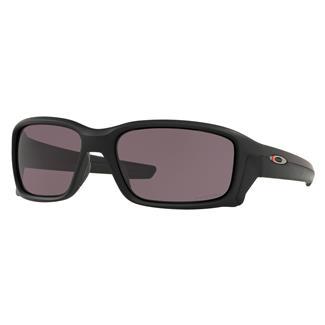 Oakley SI Straight Link Thin Red Line Matte Black (frame) - Prizm Gray (lens)