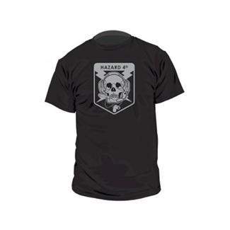Hazard 4 Operator Skull Cotton T-Shirt Black