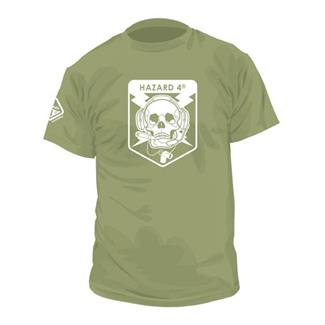 Hazard 4 Operator Skull Cotton T-Shirt OD Green