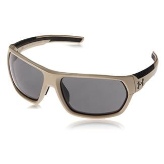 Under Armour Shock Matte Sand / Black (frame) - Gray (lens)