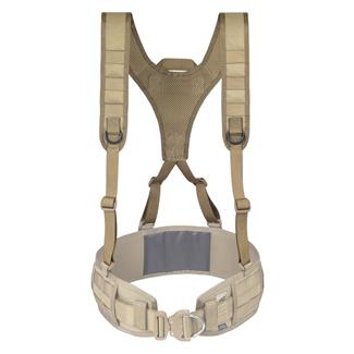 Elite Survival Systems Lightweight Battle Belt Harness Coyote Tan