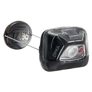 Petzl Zipka Headlamp Black White