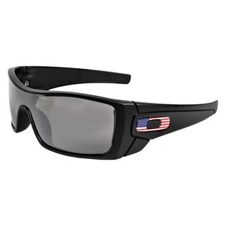 Oakley SI Batwolf Matte Black / USA Flag (frame) -  Prizm Black (lens)