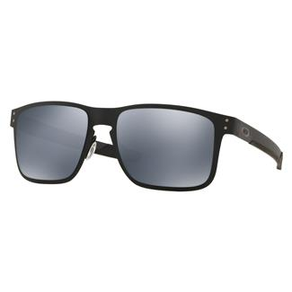 Oakley SI Holbrook Metal Matte Black (frame) - Black Iridium Polarized (lens)