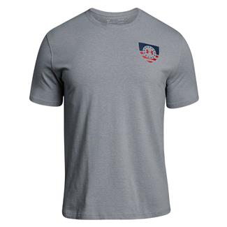 Under Armour Freedom USA Eagle T-Shirt Steel Light Heather / Red