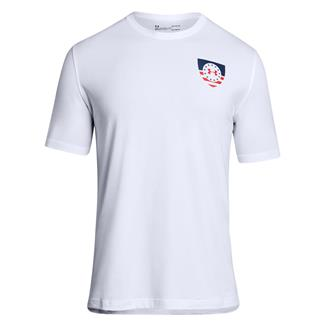 Under Armour Freedom USA Eagle T-Shirt White / Red