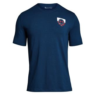 Under Armour Freedom USA Eagle T-Shirt Blackout Navy / Red