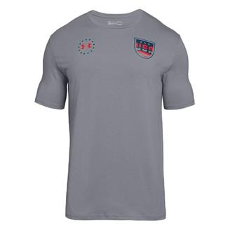 Under Armour Freedom Team USA T-Shirt Steel / Blackout Navy