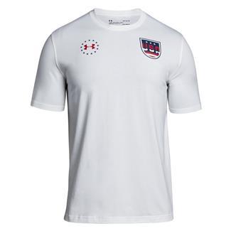 Under Armour Freedom Team USA T-Shirt White / Blackout Navy