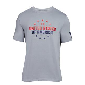 Under Armour Freedom One Nation T-Shirt Steel / Red