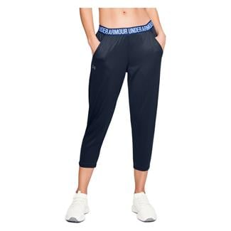 Under Armour Play Up Capri Pants Academy / Formation Blue / Metallic Silver