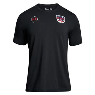 Under Armour Freedom Team USA T-Shirt Black / White