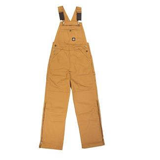 Berne Workwear Original Unlined Duck Bib Overalls Brown Duck