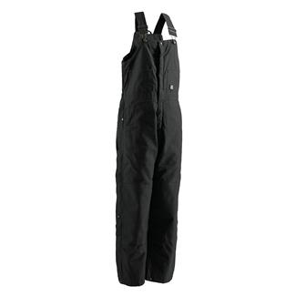 Berne Workwear Deluxe Insulated Bib Overalls Black