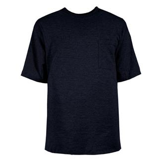 Berne Workwear Heavyweight Pocket T-Shirt Navy
