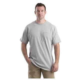 Berne Workwear Heavyweight Pocket T-Shirt Gray