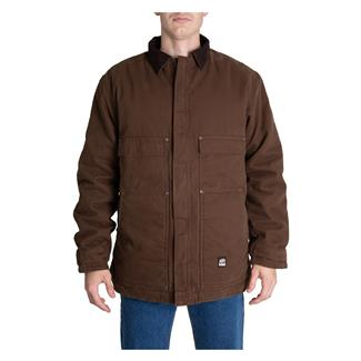 Berne Workwear Original Washed Chore Coat Bark
