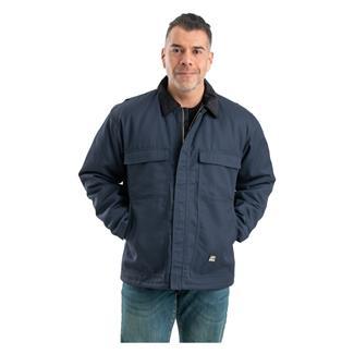 Berne Workwear Twill Original Chore Coat Navy