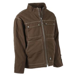 Berne Workwear Modern Chore Coat Bark