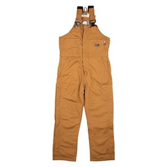 Berne Workwear FR Deluxe Bib Overalls Brown Duck