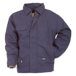 Berne Workwear FR Bomber Jacket Navy