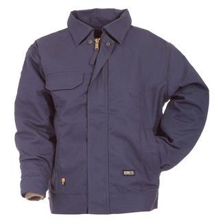 Berne Workwear FR Bomber Jacket Navy