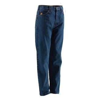 Berne Workwear FR 5-Pocket Jeans Stone Wash Dark