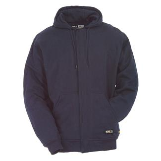 Berne Workwear FR Hooded Sweatshirt Navy