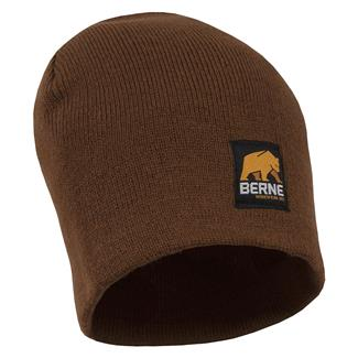 Berne Workwear Knit Beanie Brown Duck