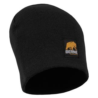 Berne Workwear Knit Beanie Black