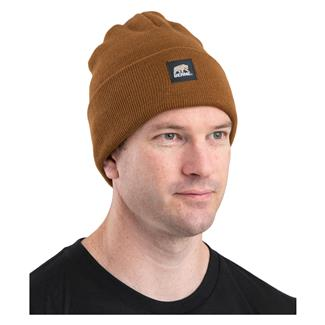 Berne Workwear Standard Knit Cap Brown Duck