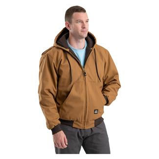 Berne Workwear Original Hooded Jacket Brown Duck