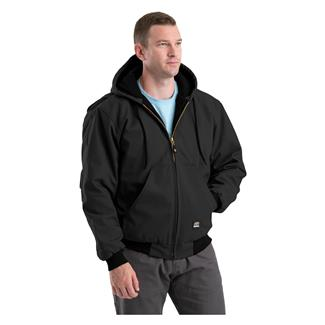 Berne Workwear Original Hooded Jacket Black