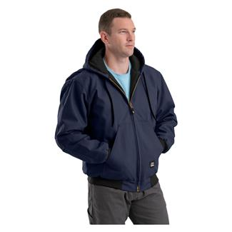 Berne Workwear Original Hooded Jacket Navy