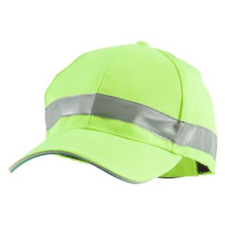 Berne Workwear Enhanced Visibility Baseball Hat Yellow