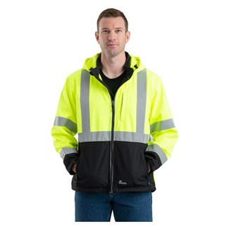 Berne Workwear Hi-Vis Type R Class 3 Softshell Jacket Yellow
