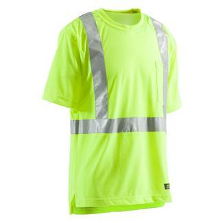 Berne Workwear Hi-Vis Type R Class 2 Pocket T-Shirt Yellow