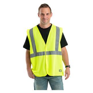 Berne Workwear Hi-Vis Type R Class 2 Economy Vest Yellow