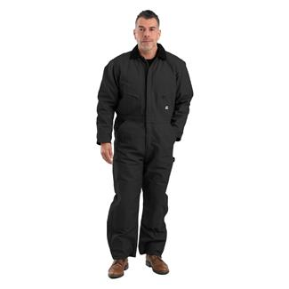 Berne Workwear Deluxe Insulated Coveralls Black