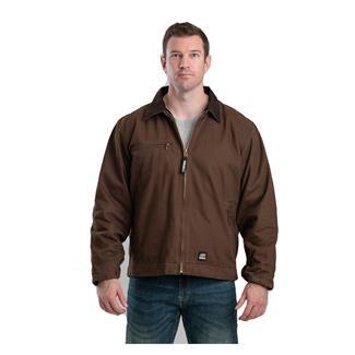 Berne Workwear Original Washed Gasoline Jacket Bark