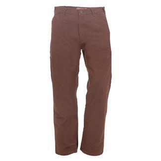 Berne Workwear Washed Duck Carpenter Pants Jeans Bark