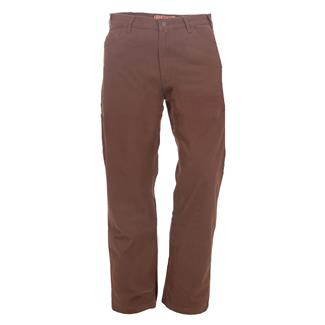 Berne Workwear Washed Duck Carpenter Pants Jeans Bark