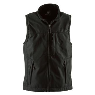 Berne Workwear Wildhorn Softshell Jacket Vest Black