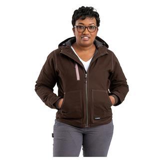 Berne Workwear Modern Hooded Jacket Dark Brown
