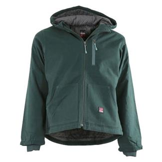 Berne Workwear Modern Hooded Jacket Jade